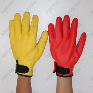 Micro Foam Nitrile Fully Coated Winter Gloves