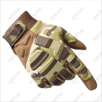 Suncend Custom Army Protect Gloves Full Finger Airsoft Hunting Military Tactical Gloves