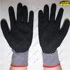 Nitrile sandy coated safety cheap work gloves