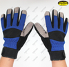 Industry silicone coated palm anti slip hand protective impact safety mechanic g