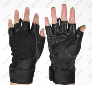 Weight Lifting Gloves, Breathable & Non-Slip, Workout Gloves, Exercise Gloves, Padded Gym Gloves