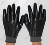 Black Nitrile Fully Coated Knit Cuff Safety Gloves