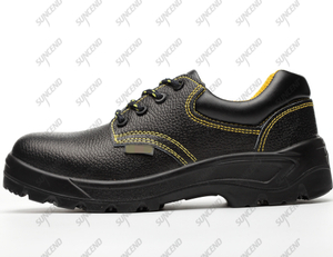 Light weight steel toe woodland PU outsole ESD safety men shoes