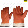 Mechanical industry PVC dipped waterproof safety cuff work gloves