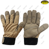 reinforced palm synthetic leather industrial working safety mechnic gloves