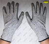 Cut proof HPPE liner hand protective pu coated gloves