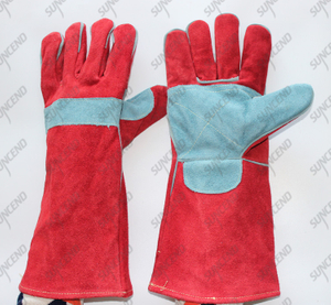 Welding heat-resistant working gloves