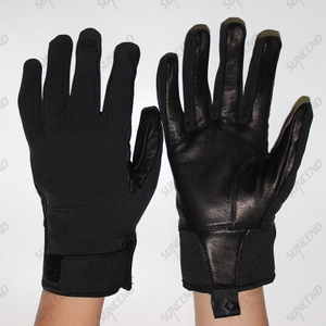 Leather Palm Comfortable Protective Workwear mechanic gloves winter
