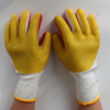 Factory Customized Cotton Lined Rubber Palm Welding Gloves