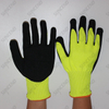 Sandy Nitrile Coated Work Glove with Sponge inside