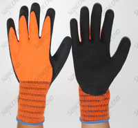 First Layer with HPPE Liner Second Layer with Arcylic Liner Cut Protection Work Glove for Winter Working