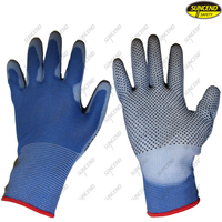 Cheap PVC Dotted PU Coated Industrial Cotton Gloves