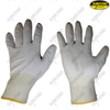 Anti static PU coated polyester safety gloves