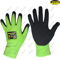 Industrial Working Safety Nitrile Coating Gloves
