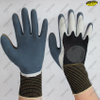 Foam double dipped polyester liner gloves
