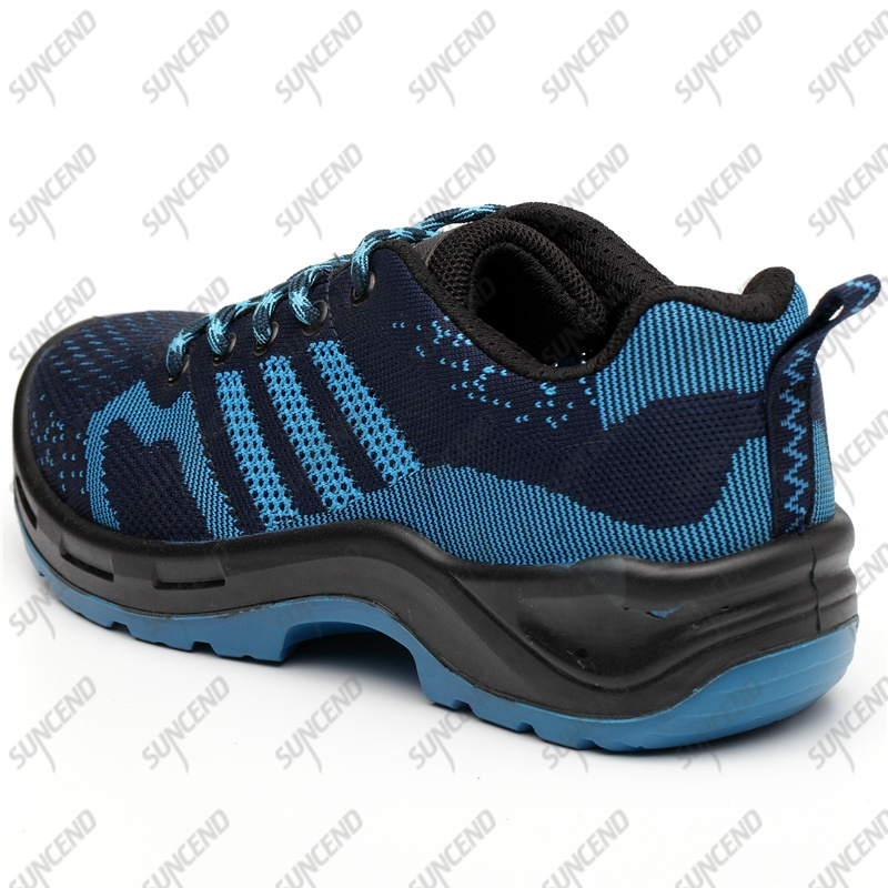 Waterproof toe work boots hiking sport rubber outsole climbing shoes