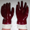 PVC dipped hand protection oil gas resistant winter use chemical gloves