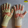 Heat resistant safety microwave oven silicone BBQ gloves