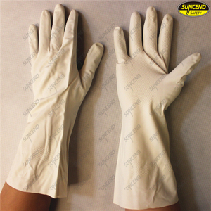 Cheap nitrile dipped industrial work gloves